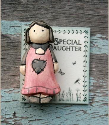 Χειροποίητο ξύλινο Special Daughter
