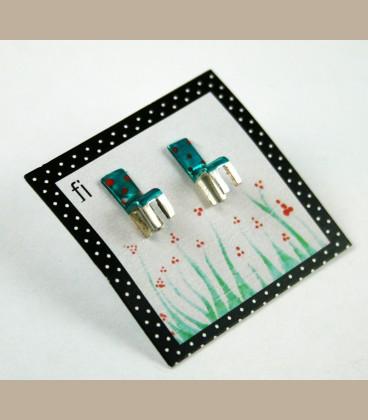 Χειροποίητα σκουλαρίκια καρέκλες βεραμάν (FI106)