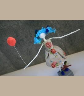 Κοριτσάκι με μπαλόνι