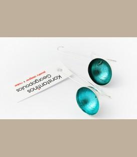 ΑΣΗΜΕΝΙΑ ΣΚΟΥΛΑΡΙΚΙΑ ΜΙΣΗ ΣΦΑΙΡΑ BLUE (KG110)