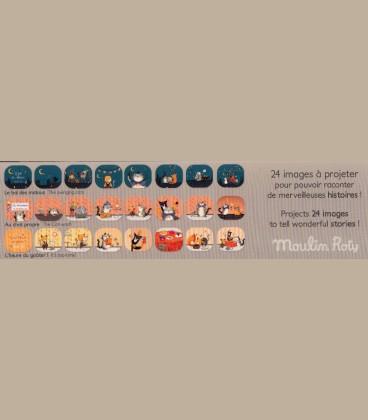 """Moulin Roty - Φακός Ιστοριών Storyboard """"Γάτοι"""""""