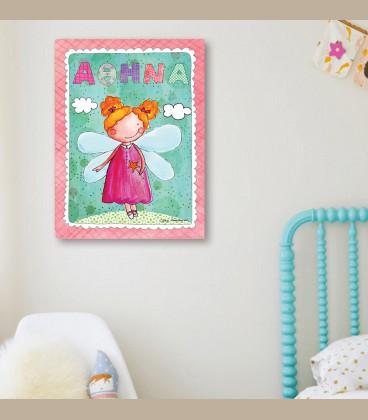 Παιδικός πίνακας Νεράϊδα PE113