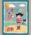 Παιδικός πίνακας Πειρατής PE140