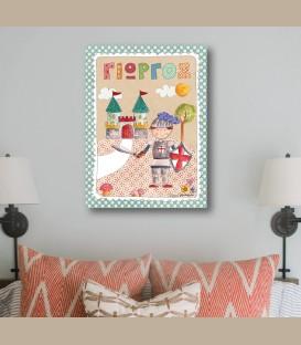 Παιδικός πίνακας Ιππότης PE160