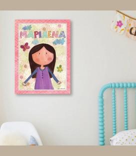 Παιδικός πίνακας κορίτσι  PE103