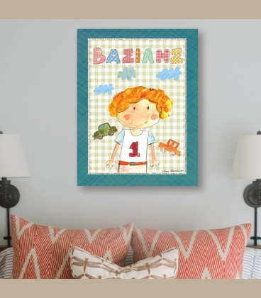 Παιδικός πίνακας αγόρι PE250
