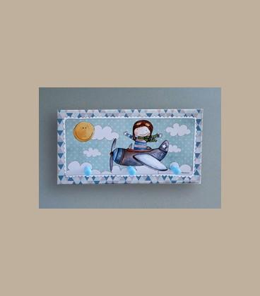 Παιδική κρεμάστρα τοίχου Πιλότος