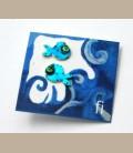 Χειροποίητα σκουλαρίκια ψαράκια (FI190)