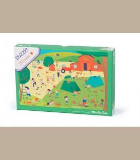 Moulin Roty - Puzzle Εκδρομή στην εξοχή +5y