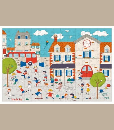 Moulin Roty - Puzzle Παιχνίδι στο σχολείο +5y