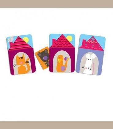 Djeco επιτραπέζιο με κάρτες 'Ντόντο το αρκουδάκι'  +4y