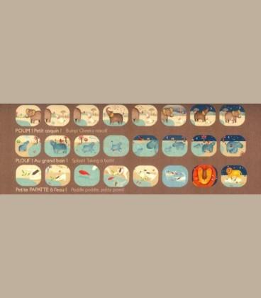 Moulin Roty - Φακός storyboard έγχρωμες ιστορίες με ζωάκια