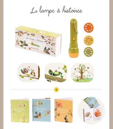 Moulin Roty - Φακός ιστοριών storyboard le Jardin +4y