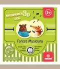 Svoora - Δίσκος ιστορίας για 3d optiviewer Forest mucisians