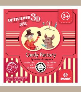 Svoora - Δίσκος ιστορίας για 3d optiviewer Candy factory