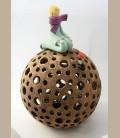 Χειροποίητο κεραμικό φαναράκι - Μικρός Πρίγκηπας Large 29εκ