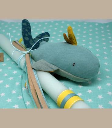 Πασχαλινή λαμπάδα Φάλαινα