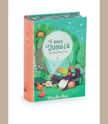 Moulin Roty - Σετ Φακός Ιστοριών La Jungle με 5 ιστορίες