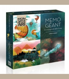 MonPetitArt- Giant Memo - Τα ταξίδια του Ιούλιου Βερν +4y