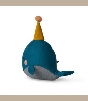 Picca LouLou- Υφασμάτινη Φάλαινα 21εκ