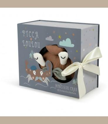 Picca LouLou- Υφασμάτινος Κάβουρας σε κουτί