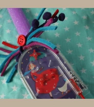 Πασχαλινή λαμπάδα με Mini Flipper Ακροβάτης Μoulin Roty