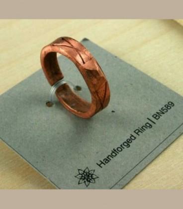 Χειροποίητο σφυρήλατο δαχτυλίδι 588