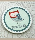 Μαγνητάκι κουκουβάγια Special Teacher B