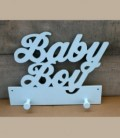 Ξύλινη κρεμάστρα Baby Boy