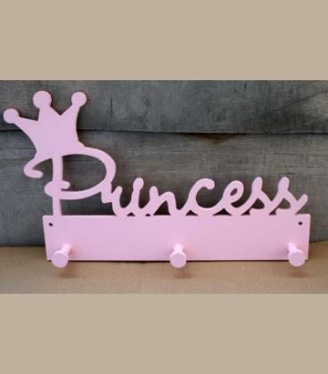 Ξύλινη κρεμάστρα Princess