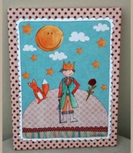 Μικρός Πρίγκιπας πίνακας 30 Χ40 εκ