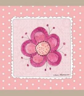"""Καδράκι τοίχου """"Λουλούδι"""" 20 x 20εκ."""