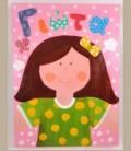 Πίνακας Κορίτσι 30Χ40εκ