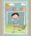 Παιδικός πίνακας Ποδοσφαιριστής PE165