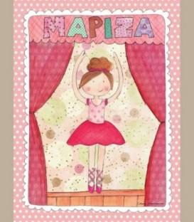 Παιδικός πίνακας Μπαλαρίνα PE220