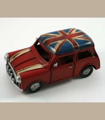 Ρετρό μεταλλικό Mini Cooper 16cm