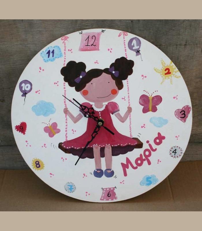 Παιδικό ρολόι τοίχου