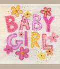 """Ευχετήρια κάρτα """"BABY GIRL"""""""