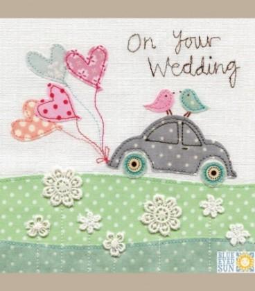 """Ευχετήρια κάρτα """"On your wedding"""""""