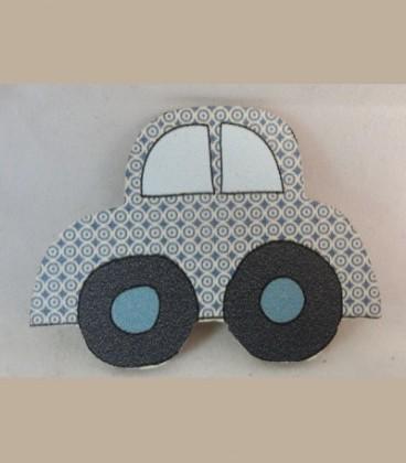 Ξύλινο μαγνητάκι αυτοκίνητο Α