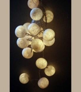 Γιρλάντα led φωτάκια Λευκά