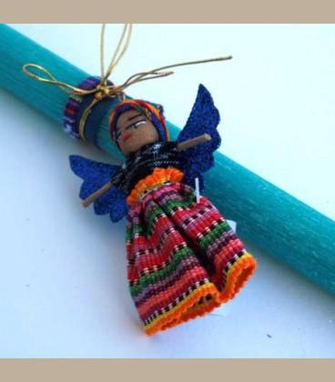 Λαμπάδα Worry Doll (EC1141)