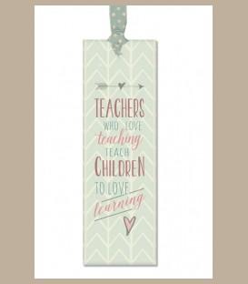 Σελιδοδείκτης με μήνυμα: Teachers who love teaching...
