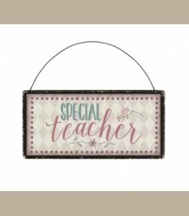 Mini Επιγραφή -Special teacher