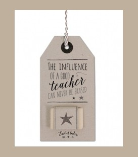 Γόμα σε καρτέλα - The influence of a good teacher...