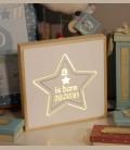 Φωτιστικό led πιστοποιητικό γέννησης -  A star is born