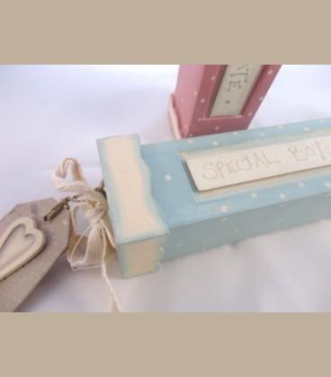 Κουτί γαλάζιο για πιστοποιητικό γέννησης