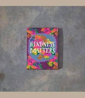 """Σημειωματάριο με μαγνήτη """"Kindness matters"""""""