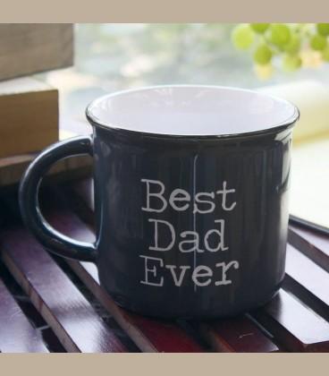 """Κούπα κεραμεική Camp Mugs """"Best Dad Ever"""""""