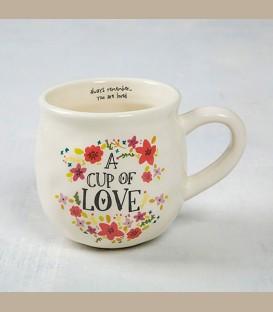 """Κεραμεική κούπα Cup of Love  """"Always remember..."""""""